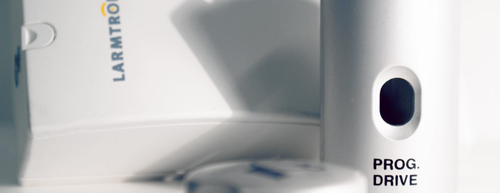 Tampotryckslider-larm